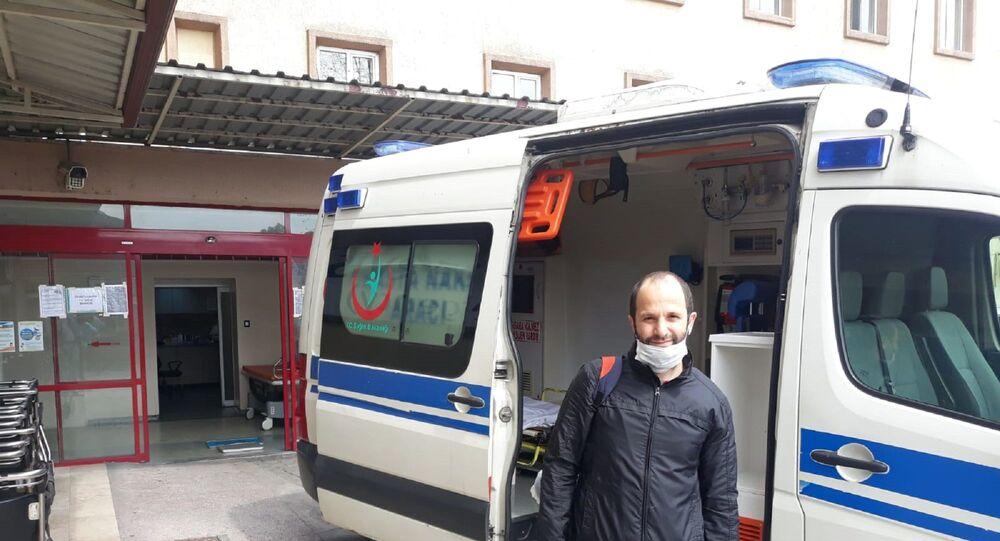 Türkiye Taşkömürü Kurumu'nda çalışan 14 yıllık maden işçisi 42 yaşındaki Erkut Eren