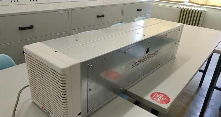 Üretilen prototip, saatte 300 metreküp havayı steril hale getirebiliyor