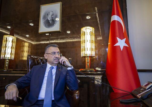 Cumhurbaşkanı Yardımcısı Fuat Oktay, Rusya Başbakanı Mihail Mişustin ile telefon görüşmesi yaptı.