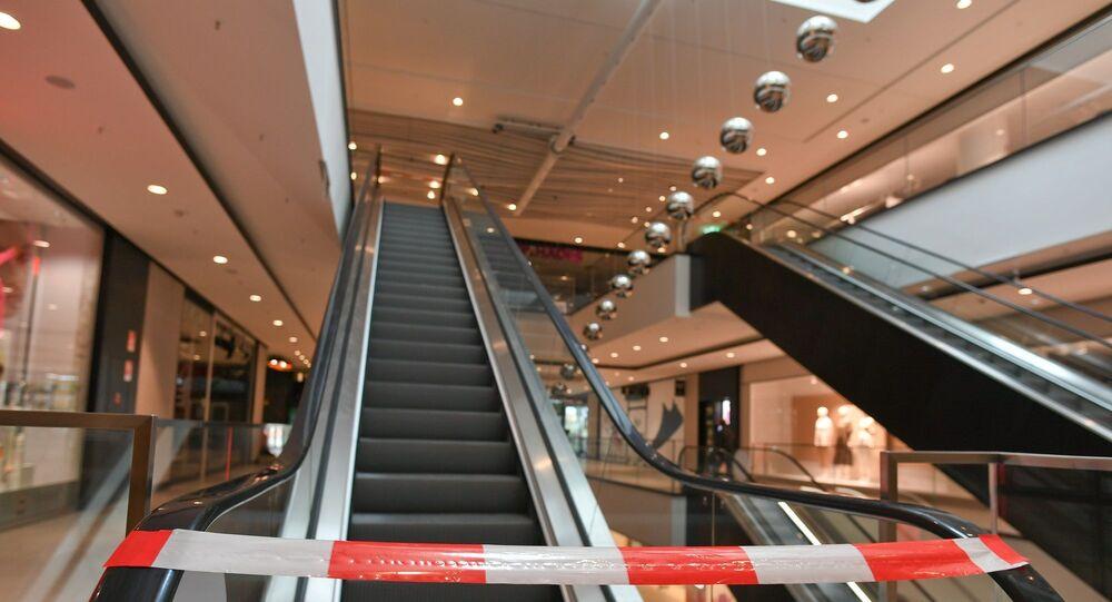 AVM – Alışveriş Merkezi – Münih – Almanya - koronavirüs