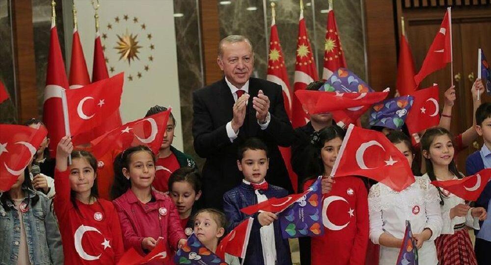 Cumhurbaşkanı Recep Tayyip Erdoğan-23 Nisan