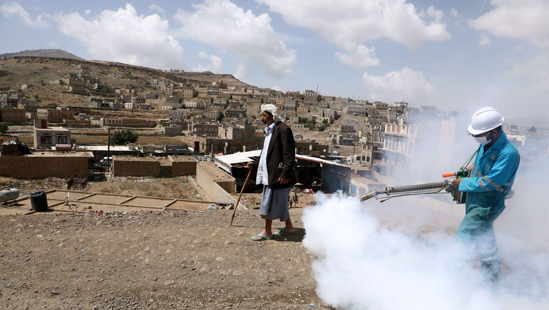Yemen-koronavirüs - Sputnik Türkiye, 1920, 09.04.2021
