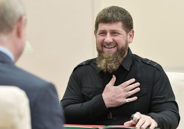 Çeçenistan lideri Ramzan Kadirov - Rusya Devlet Başkanı Vladimir Putin