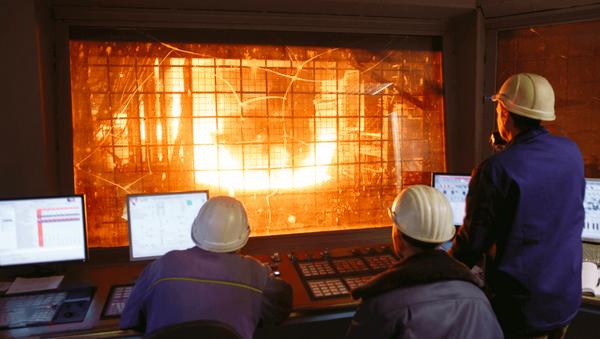 Çelik üretimi - Sputnik Türkiye