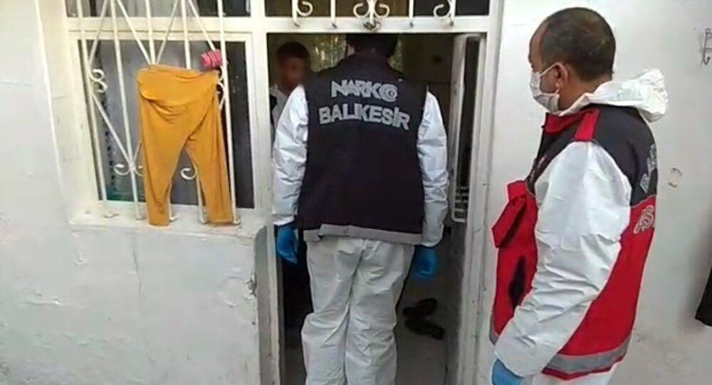 Balıkesir'de uyuşturucu operasyonu