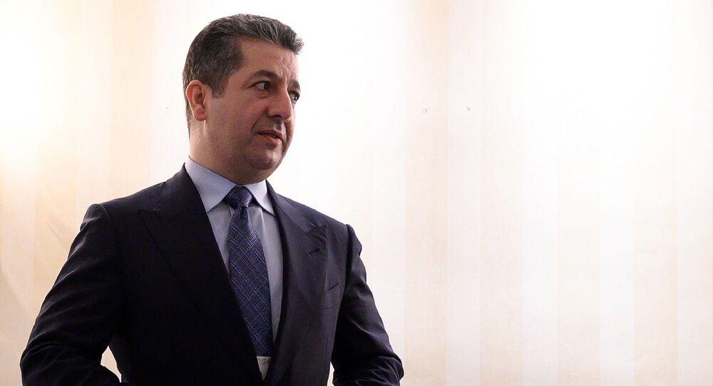 Irak Kürt Bölgesel Yönetimi (IKBY) Başbakanı Mesrur Barzani