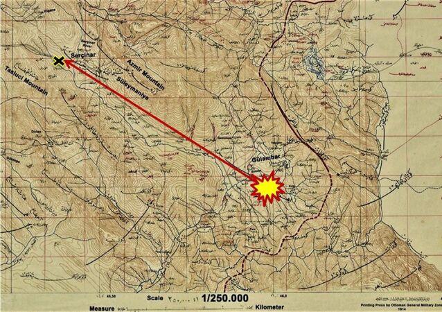 Irak Musul'daki, 'meteor çarpması sonucu 22 Ağustos 1888 yılında bir kişinin öldüğü' bilgisi, Cumhurbaşkanlığı Devlet Arşivleri Başkanlığının Osmanlı Arşivi Bölümü'nde yapılan incelemeyle ortaya çıkarıldı.