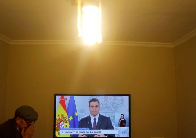 İspanya-koronavirüs, Pedro Sanchez