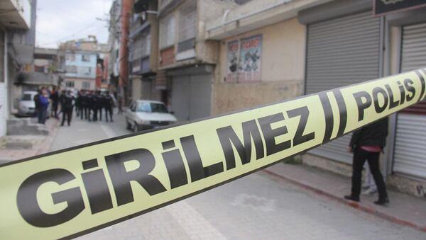 Adana, suriyeli genç, polis, cinayet - Sputnik Türkiye