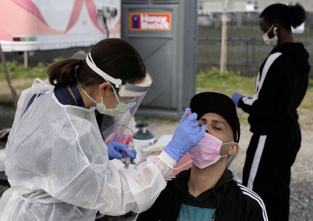 Koronavirüs testi-ABD-Koronavirüs vakaları