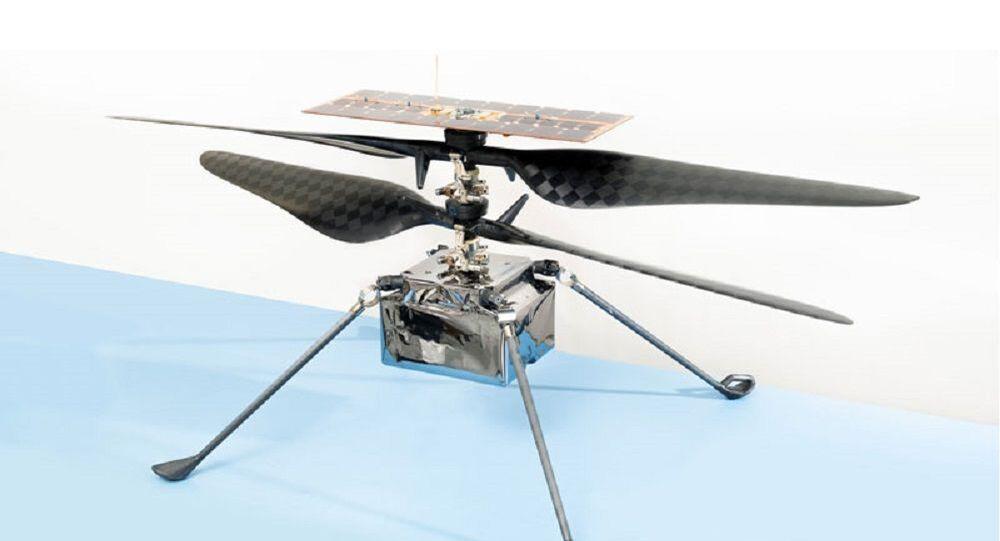 NASA'nın Ingenuity Mars helikopteri