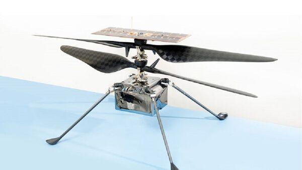 NASA'nın Ingenuity Mars helikopteri - Sputnik Türkiye
