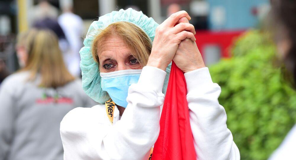 İtalya'da koronavirüs, İtalya'da ekipman eksiği sebebiyle protesto