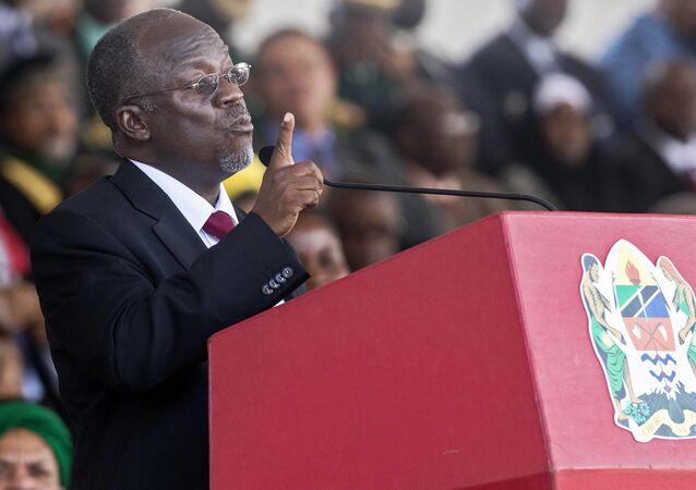 Tanzanya Devlet BaşkanıJohn Magufuli