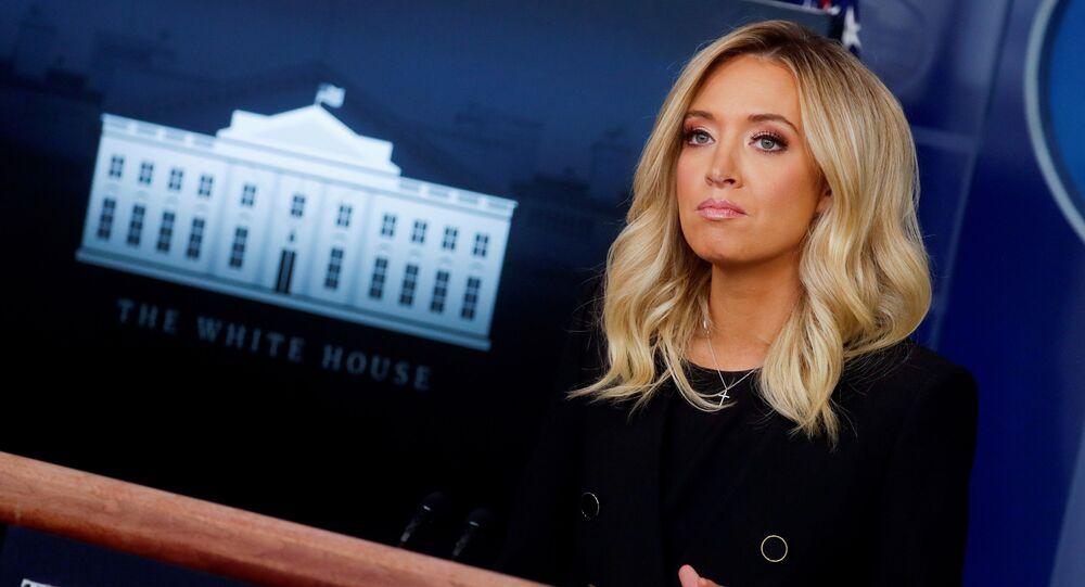 Beyaz Saray SözcüsüKayleigh McEnany