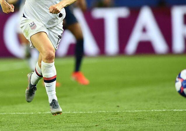 ABD'de kadın futbol oyuncusu