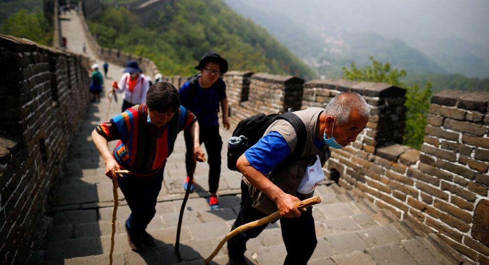 Çin Seddi-turist-koronavirüs