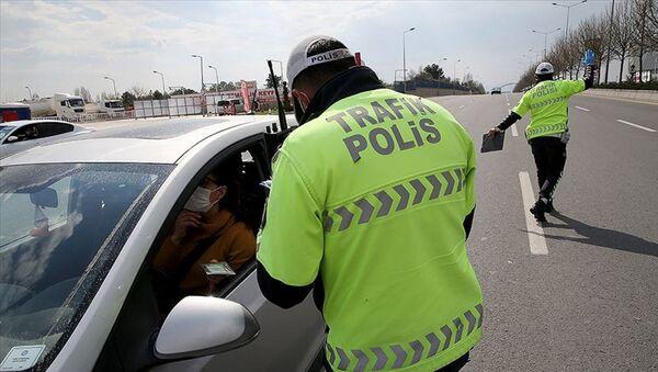 Koronavirüs-Polis-Denetim - Sputnik Türkiye