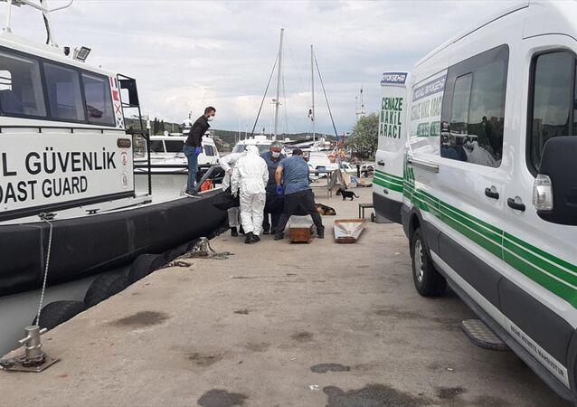 Kocaeli'de demirli kuru yük gemisinin ikinci kaptanı gemideki odasında ölü bulundu.