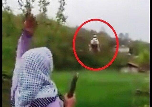 Samsun'da ambulans helikopterin kırsal mahallede tarlaya inmesine izin verilmedi