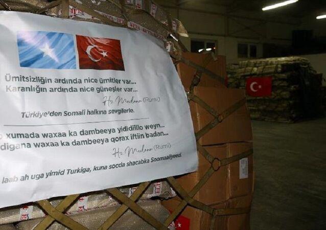 Türkiye'den Somali'ye koronavirüsle mücadelede tıbbi yardım