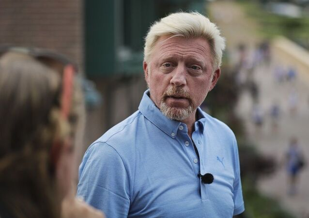 Former tennis champion Boris Becker