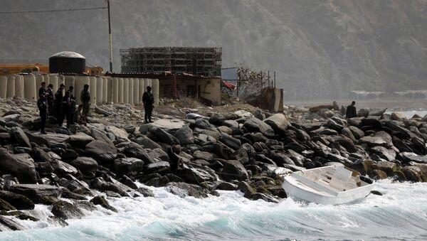 Paralı askerler deniz yoluyla Venezüella'ya sızma girişiminde bulundu - Sputnik Türkiye