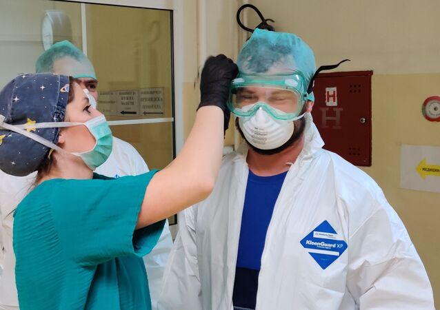 Sırbistan - Rusya  - Koronavirüs Yardımı
