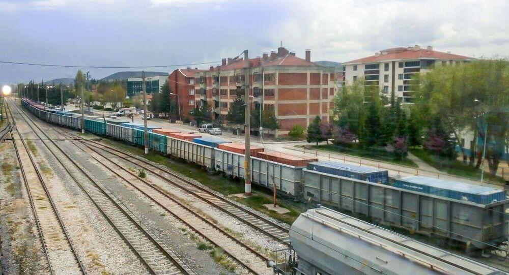 Türkiye'nin tek seferde en uzağa giden en uzun ihracat treni