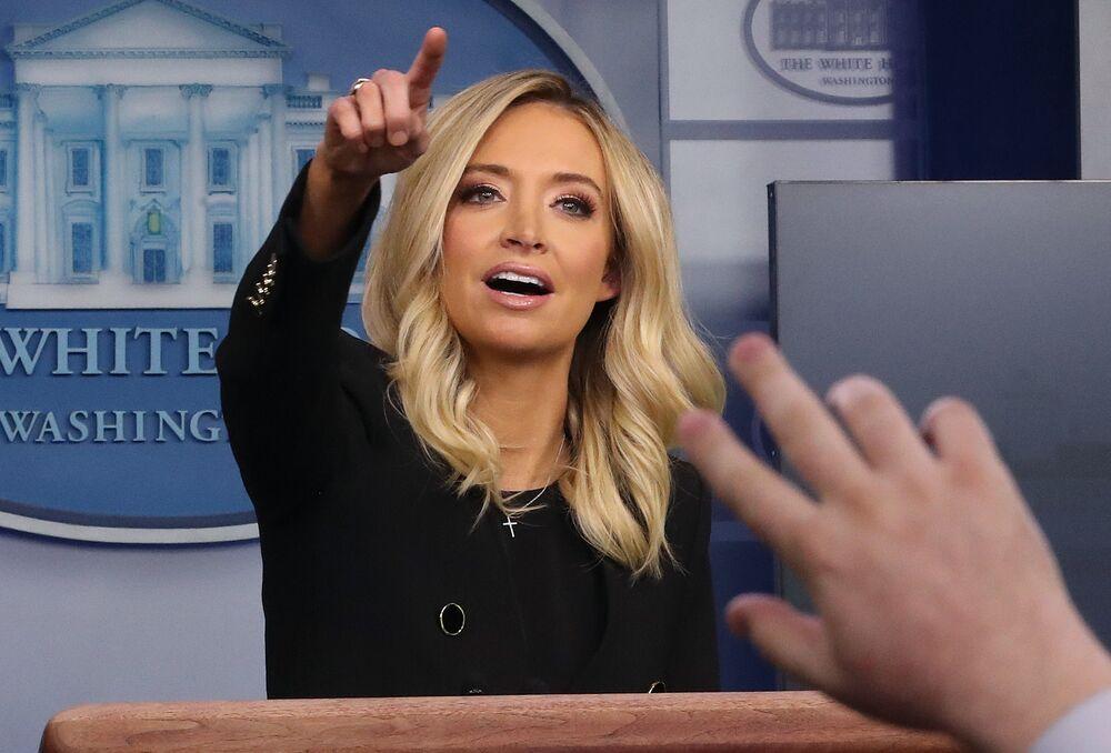 Beyaz Saray Sözcüsü Kayleigh McEnany