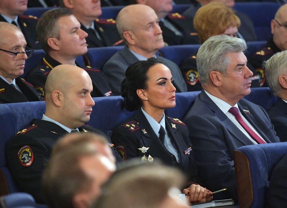 Rusya İçişleri Bakanlığı Sözcüsü İrina Volk
