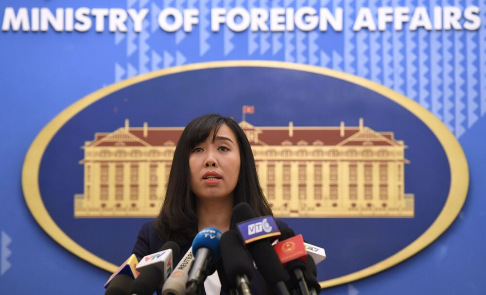 Vietnam Dışişleri Bakanlığı Sözcüsü Le Thi Thu Hang