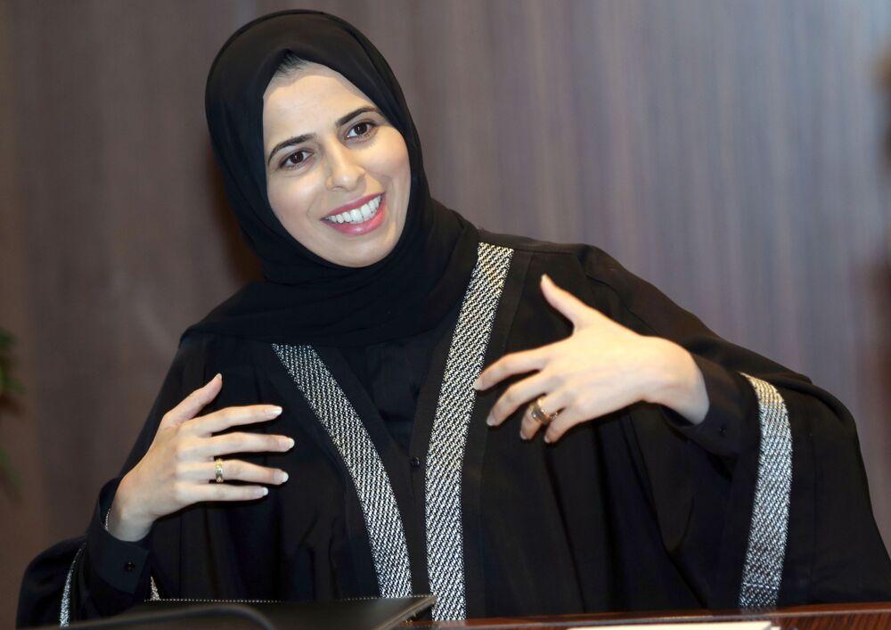 Katar Dışişleri Bakanlığı Sözcüsü Lulwa Rashid Al-Khater