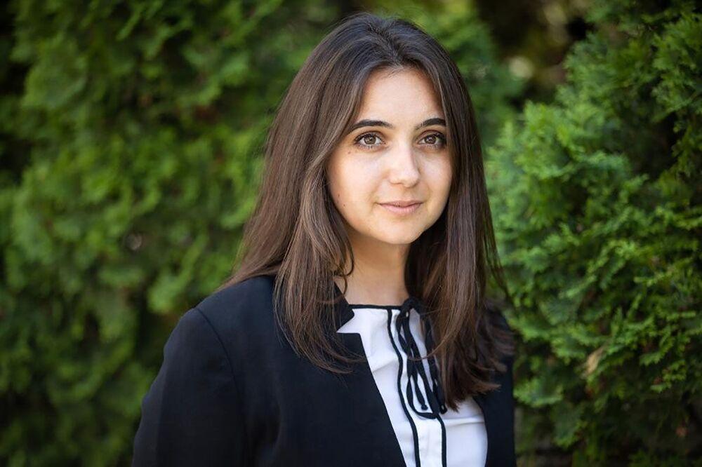 Ukrayna Devlet Başkanlığı Sözcüsü Yulia Mendel
