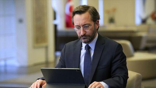 İletişim Başkanı Fahrettin Altun - Sputnik Türkiye