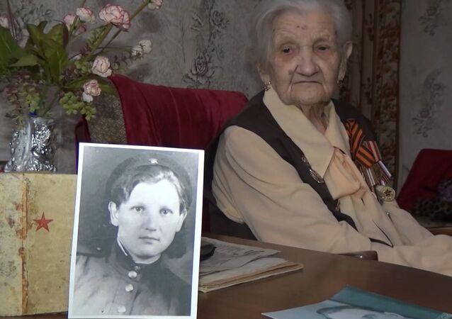 95 yaşındaki gazi Büyük Vatan Savaşı sırasında yaşadıklarını anlattı