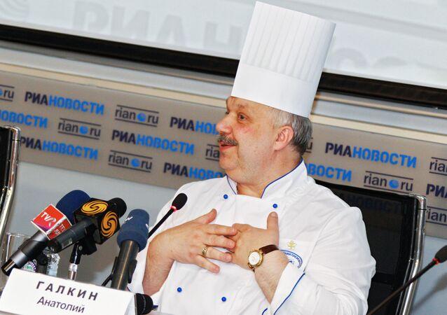 Kremlin'in baş aşçısı Anatoliy Galkin