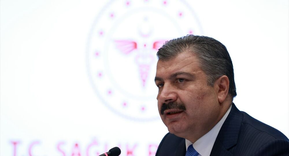 Sağlık Bakanı Fahrettin Koca, video konferans yöntemiyle gerçekleştirilen Koronavirüs Bilim Kurulu toplantısı sonrası düzenlenen basın toplantısında açıklamalarda bulundu.