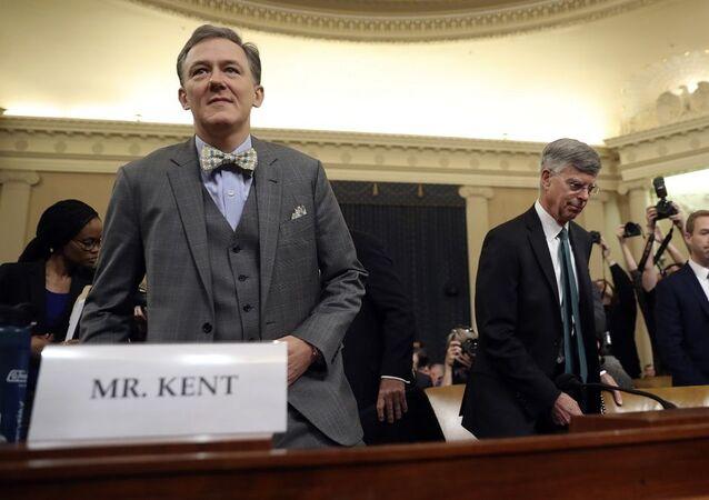 ABD'nin Avrupa ve Avrasya İşlerinden Sorumlu Dışişleri Bakan Yardımcısı George Kent