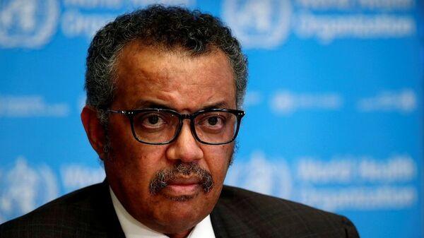 Dünya Sağlık Örgütü Genel Direktörü Tedros Adhanom Ghebreyesus - Sputnik Türkiye