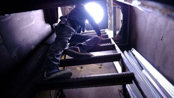 Polisten kaçmak için kıraathaneye tünel yapmışlar - Sputnik Türkiye