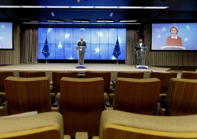 Avrupa Birliği video konferans