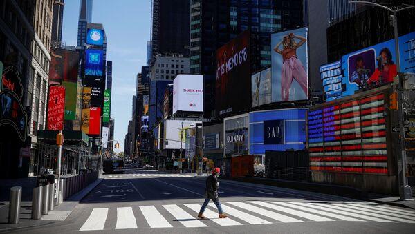 ABD-New York-Times Meydanı-koronavirüs - Sputnik Türkiye