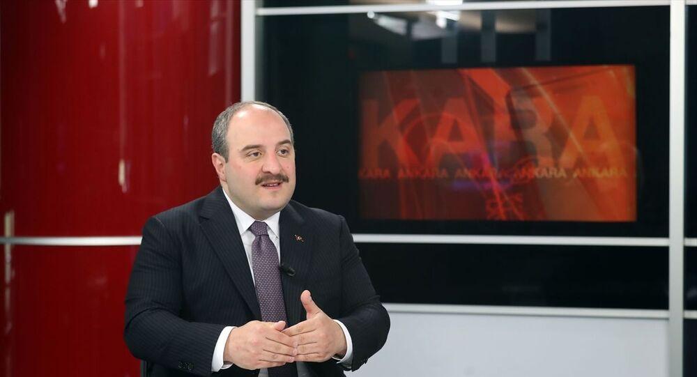 Sanayi ve Teknoloji Bakanı Mustafa Varank, CNN Türk'te gündeme ilişkin değerlendirmelerde bulundu.