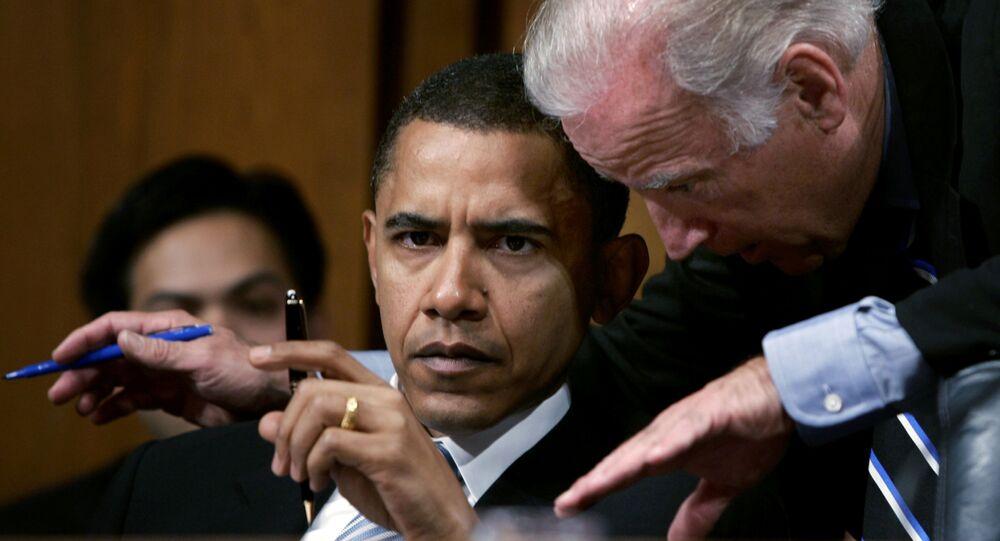 Joe Biden ve Barack Obama - 2005