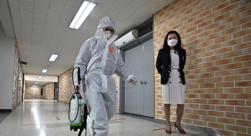 Güney Kore – maske – dezenfekte