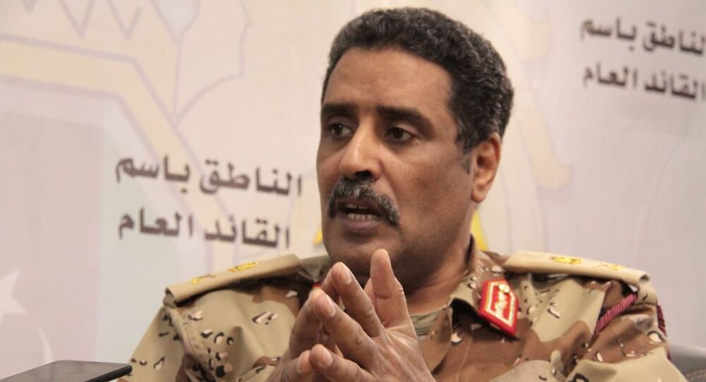 Libya Ulusal Ordusu sözcüsü Ahmed el Mismari