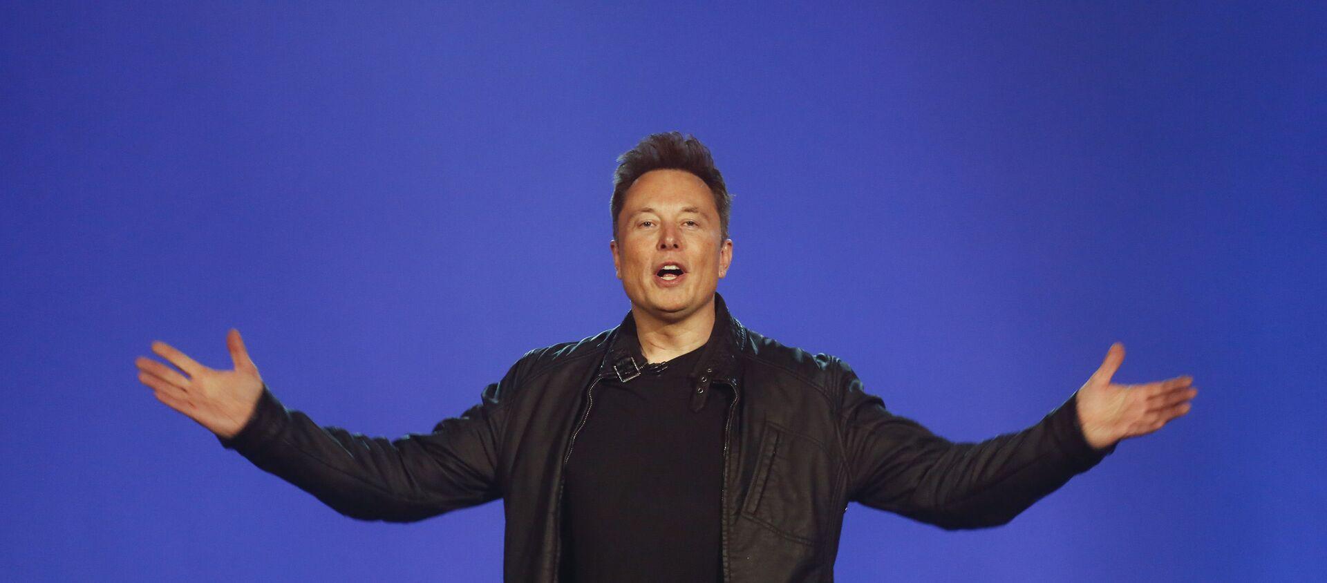 Elon Musk - Sputnik Türkiye, 1920, 09.04.2021