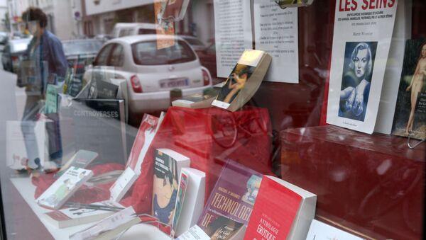 Fransa-kitapçı - Sputnik Türkiye