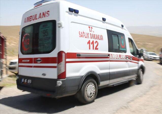 ambulans - saldırı